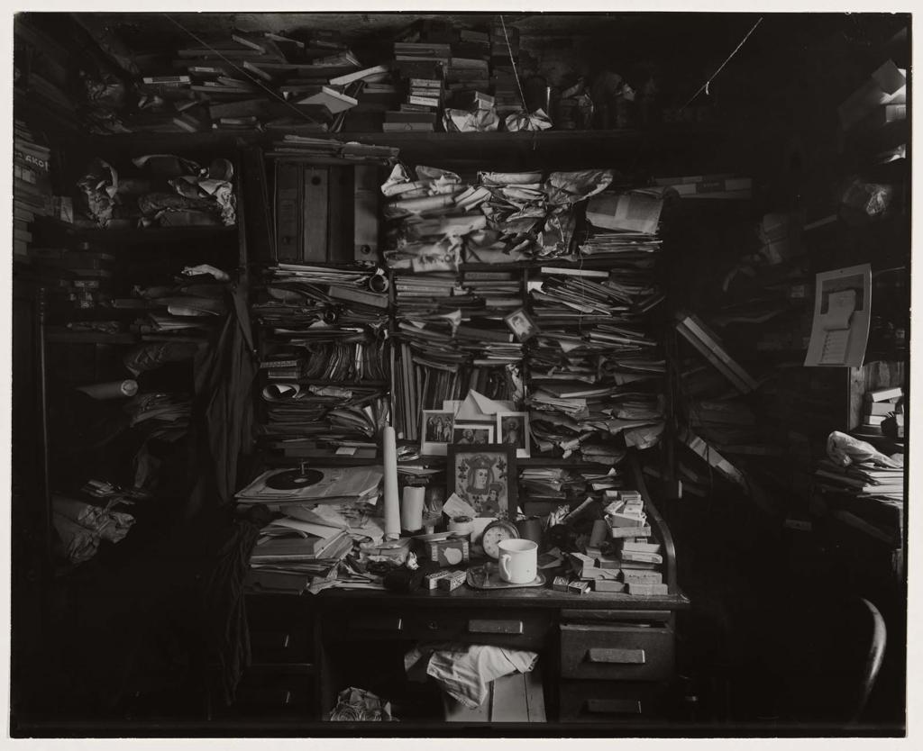 Josef Sudek: Labyrinth in my Atelier, 1960
