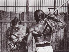 Kirk Douglas and Woody Strode in Spartacus (1960)