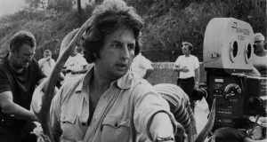 Michael Cimino during the filming of The Deer Hunter