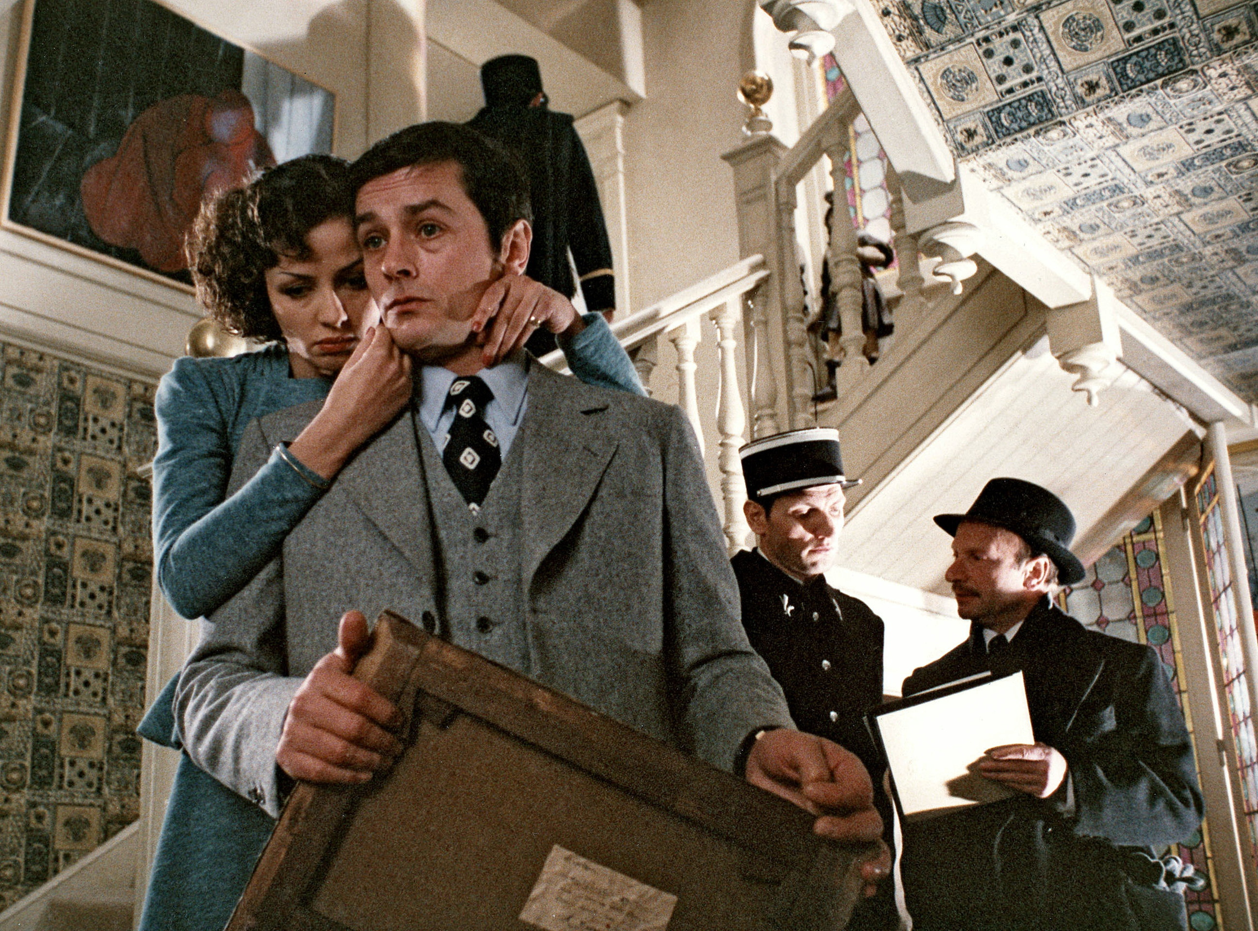 Monsieur Klein - Alain Delon and Juliet Berto
