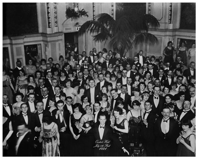 The Shining - Jack Torrance in Overlook staff party from 1921