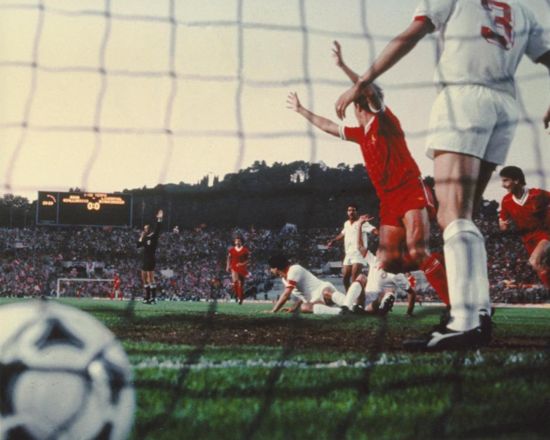 Coppa dei Campioni 1984, Liverpool-Roma - Il primo gol di Phil Neal