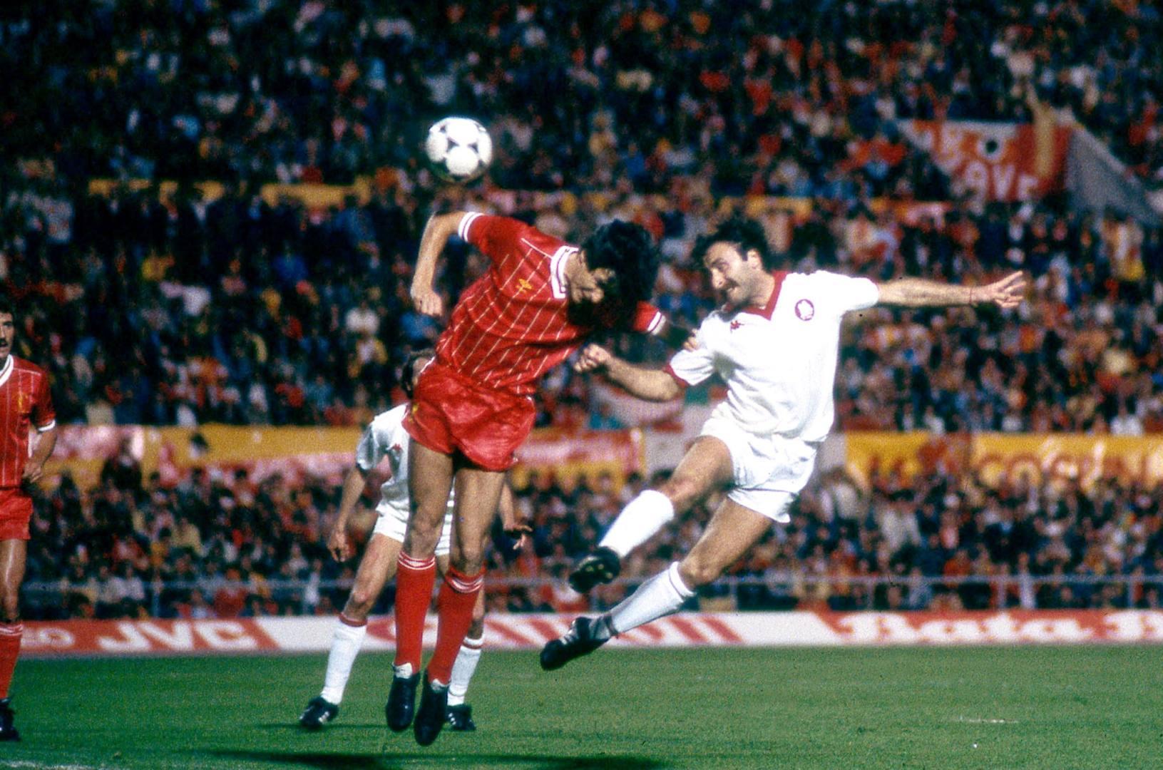 Coppa dei Campioni 1984, Liverpool-Roma, il gol di Roberto Pruzzo