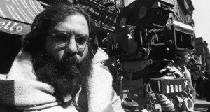 Francis Ford Coppola on set