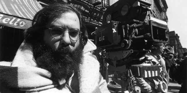 Francis Ford Coppola on set