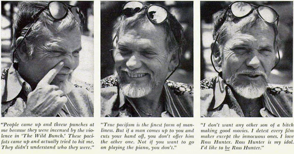 Sam Peckinpah - Playboy Interview