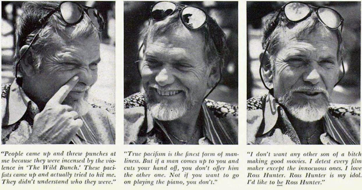 Sam Peckinpah - Playboy Interview