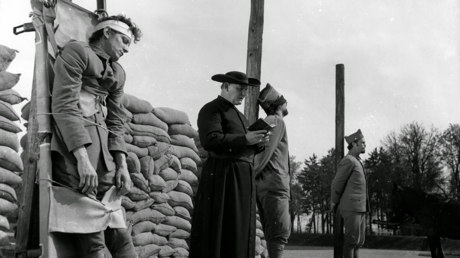 Paths of Glory (1957) Execution scene