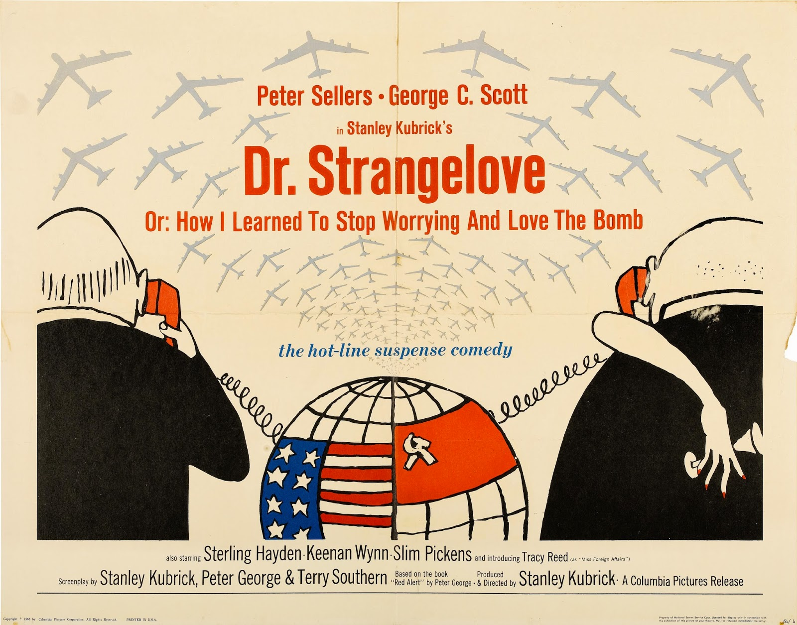 DR. STRANGELOVE - American Poster