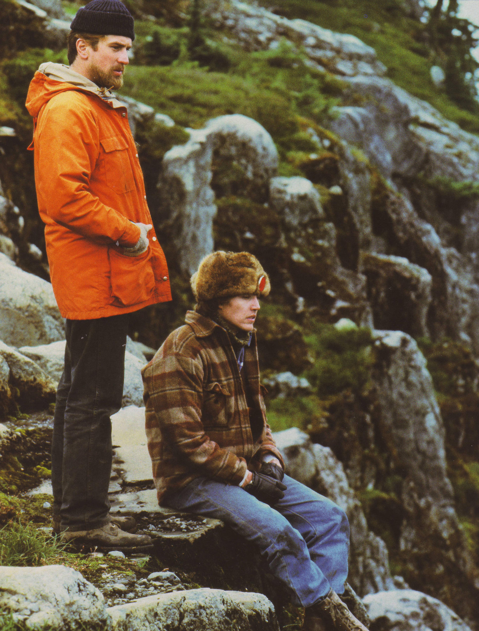 The Deer Hunter (1978) Michael and Nick on a hunting trip in the mountains