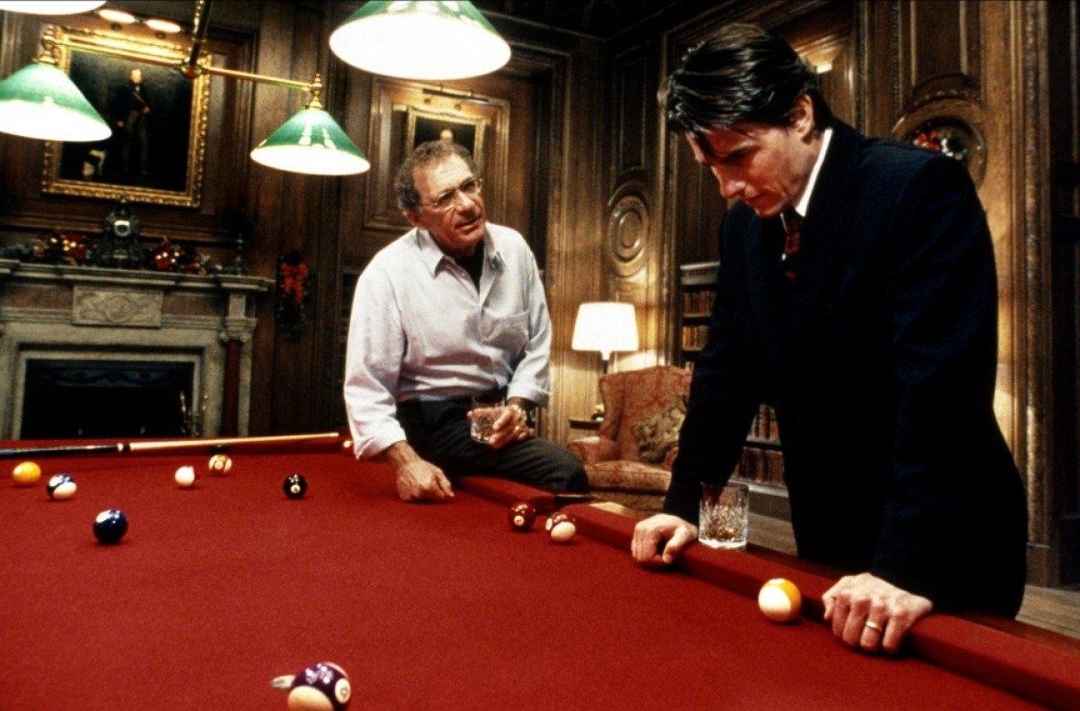 Eyes Wide Shut - Victor Ziegler (Sidney Pollack) and William Harford (Tom Cruise)