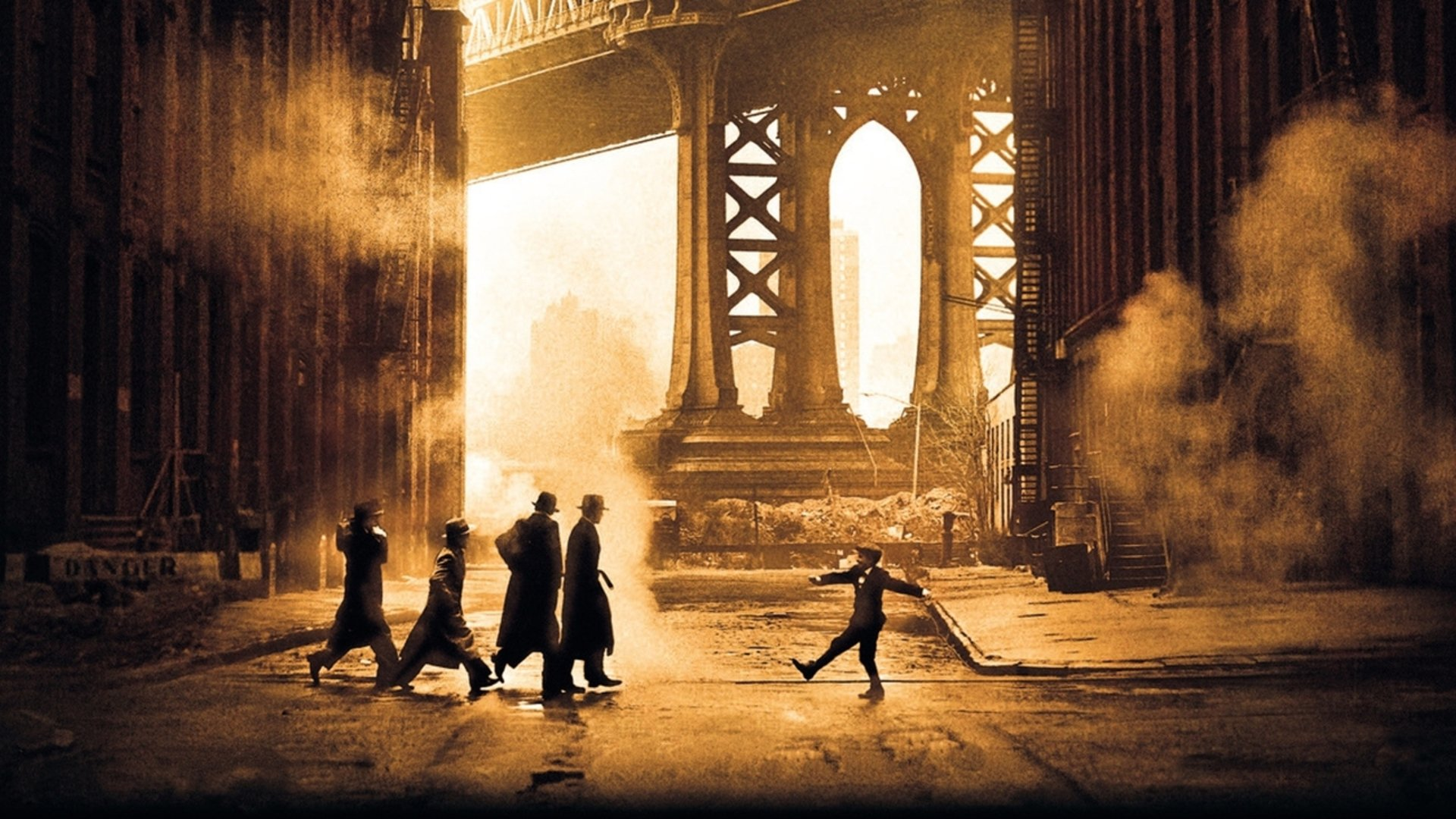 Once Upon a Time in America - The boys' gang roams the streets of the Lower East side of New York in the 1920s