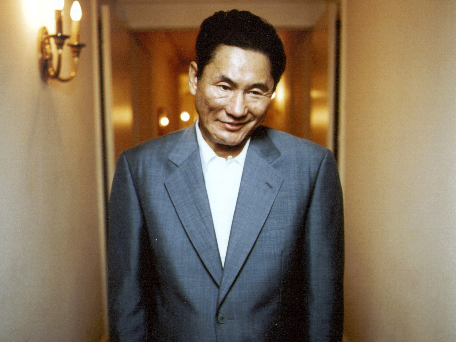 Takeshi Kitano - Photo by L. Carême