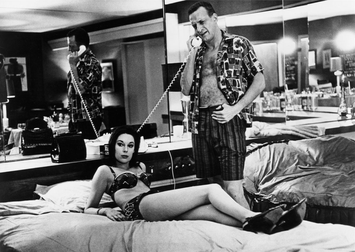 Tracy Reed and George C. Scott in Dr. Strangelove
