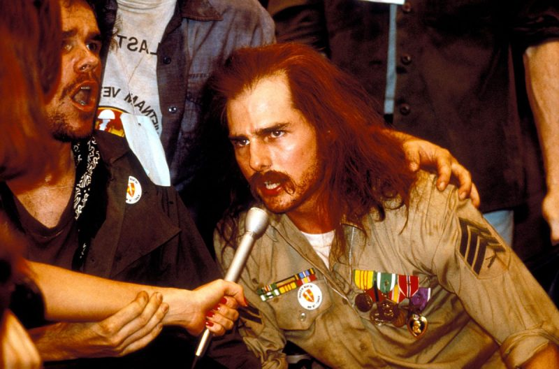 Tom Cruise (Ron Kovic) in Born on the Fourth of July (1989)
