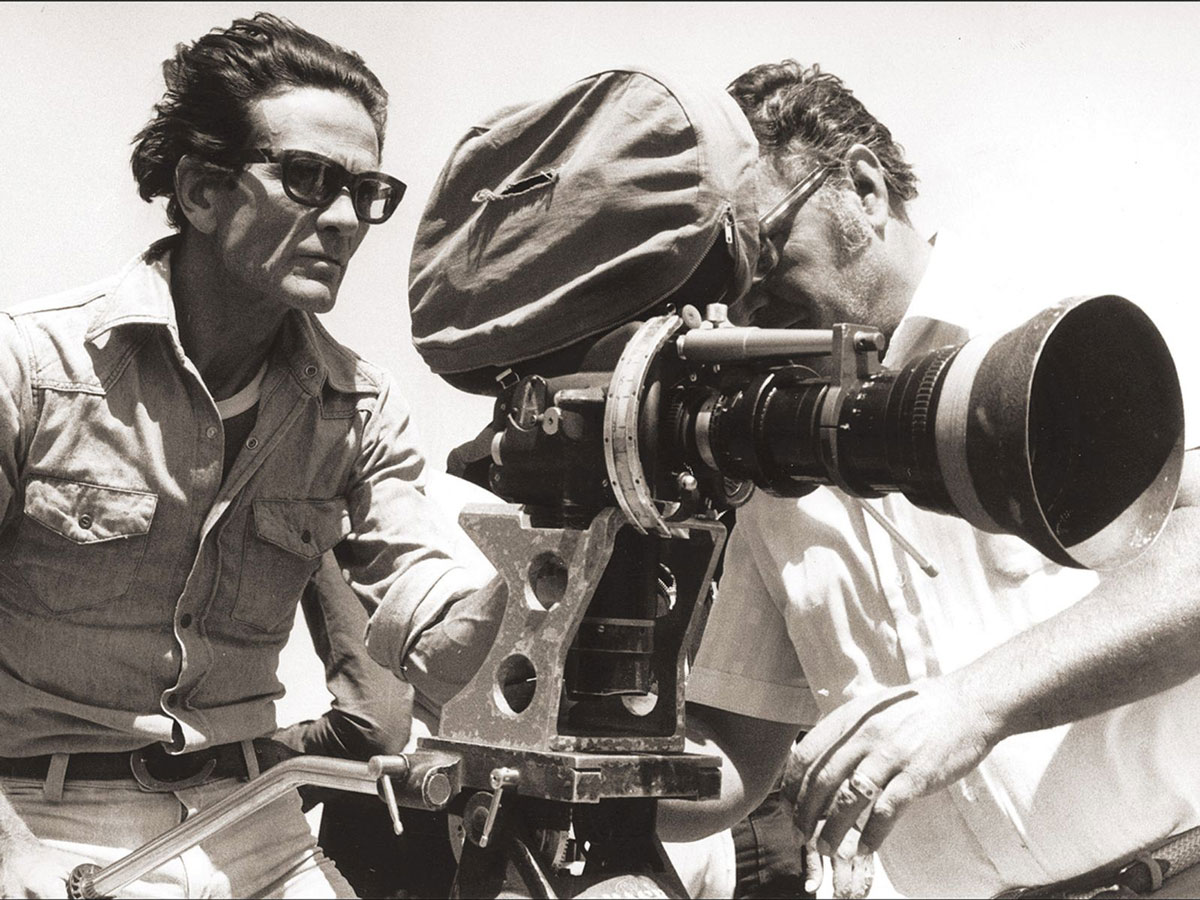 Pier Paolo Pasolini Behind the Camera