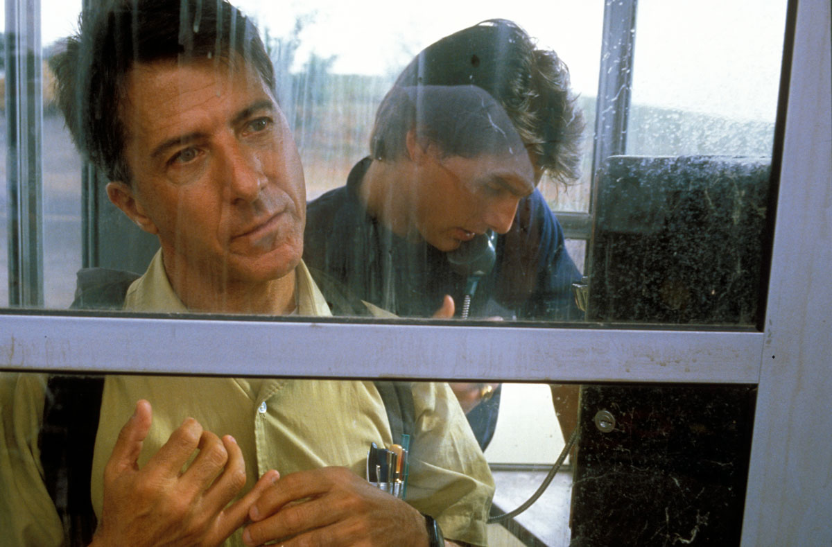 Rain Man (1988) Dustin Hoffman and Tom Cruise