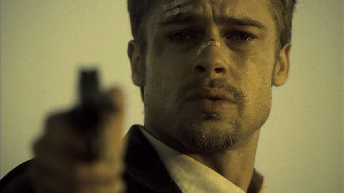 Seven (1995) Brad Pitt as detective David Mills
