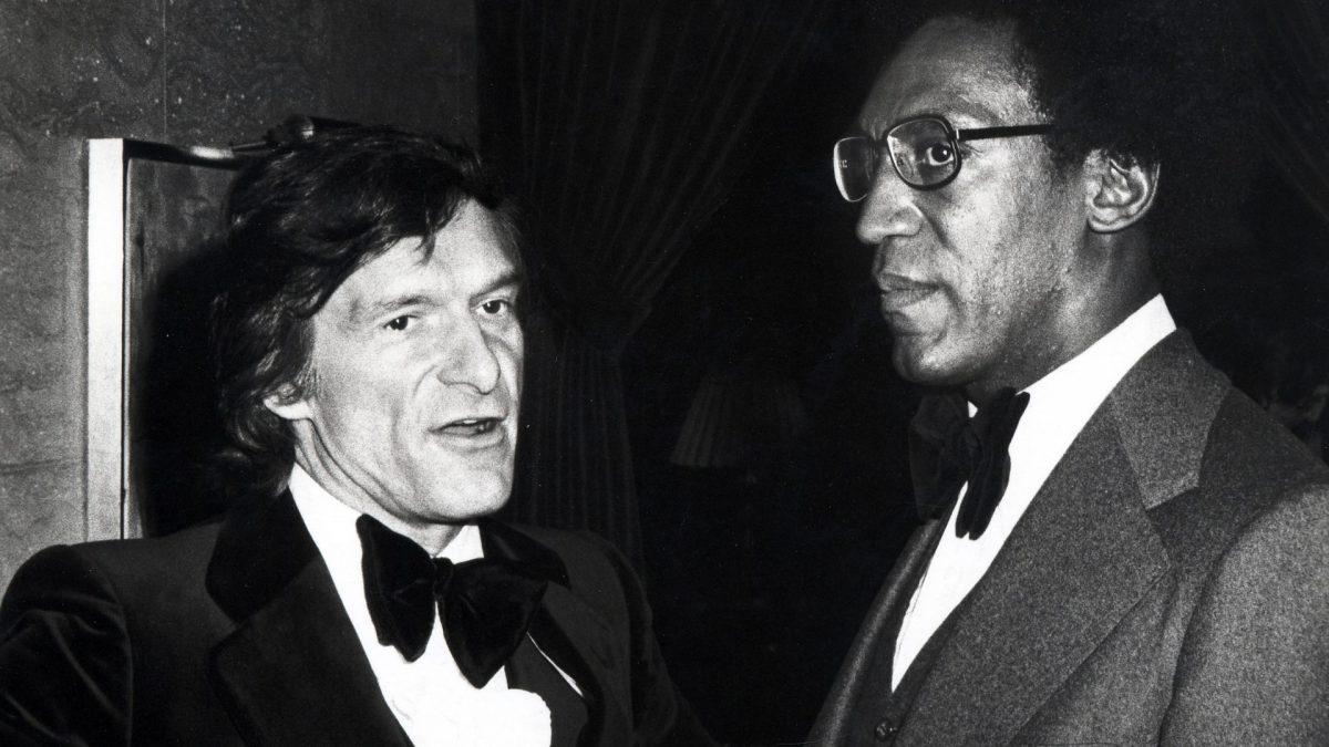 Hugh Hefner and Bill Cosby