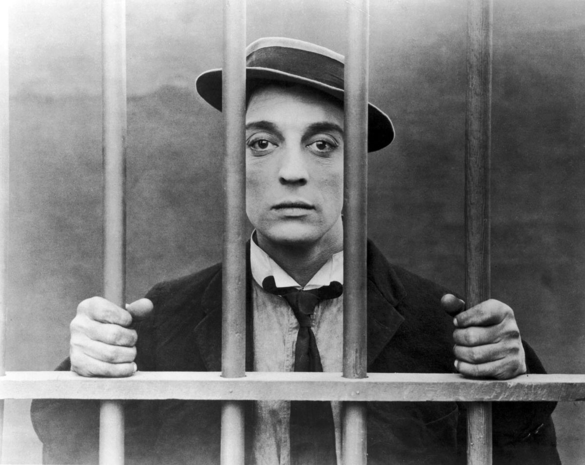 Buster Keaton in Cops (1922)