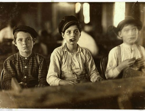 YOUNG CIGARMAKERS IN ENGLEHARDT AND COMPANY, TAMPA, FLORIDA