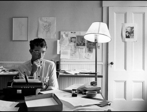 John Updike: At War with My Skin