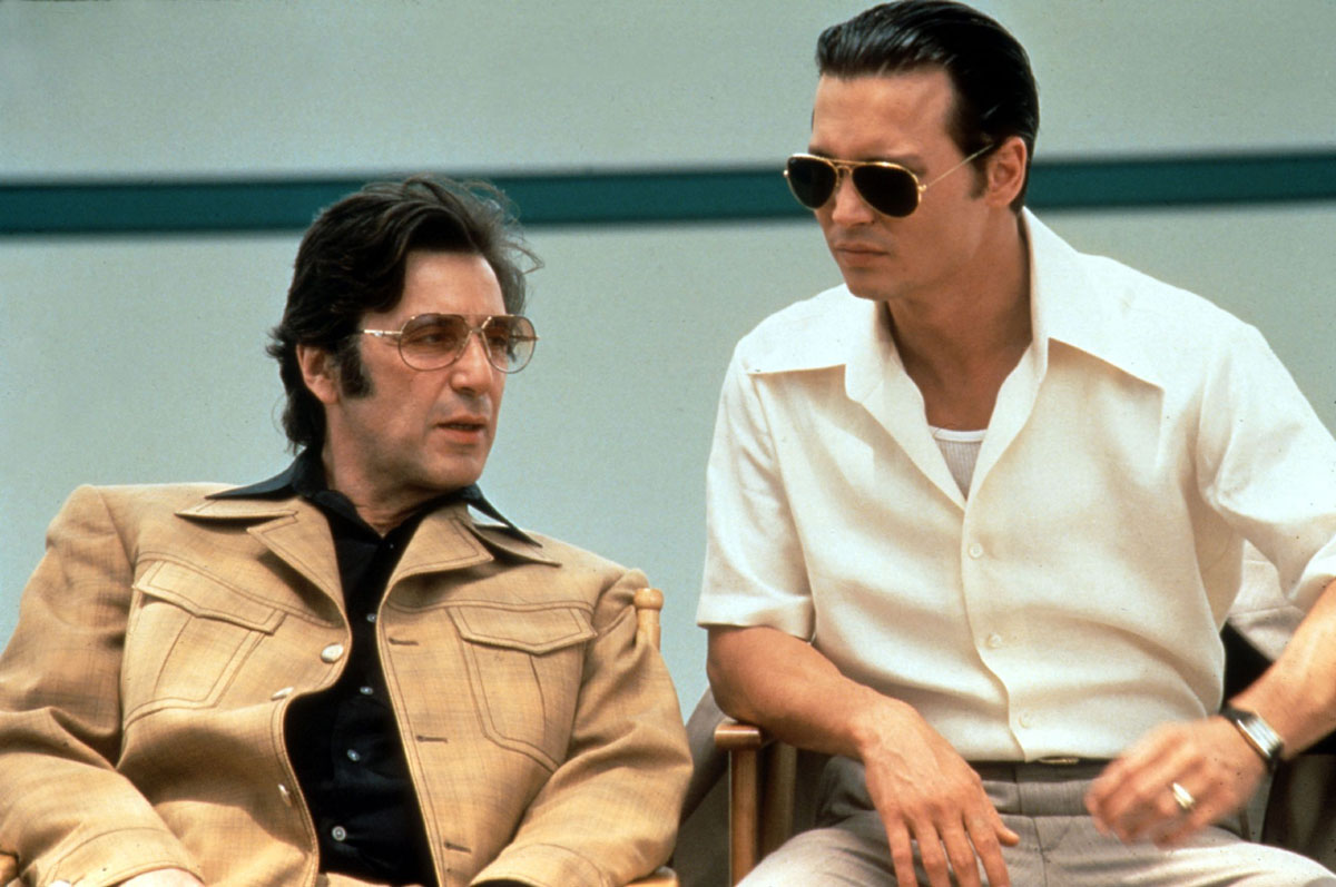 Donnie Brasco (1997) Al Pacino and Johnny Depp