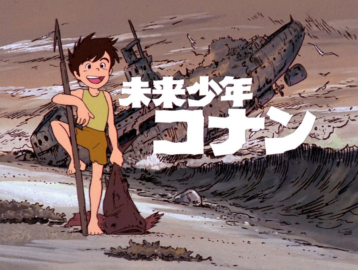 Future Boy Conan by Hayao Miyazaki