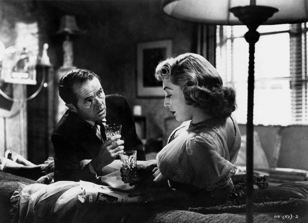 Elisha Cook Jr. and Marie Windsor in The Killing (1956)