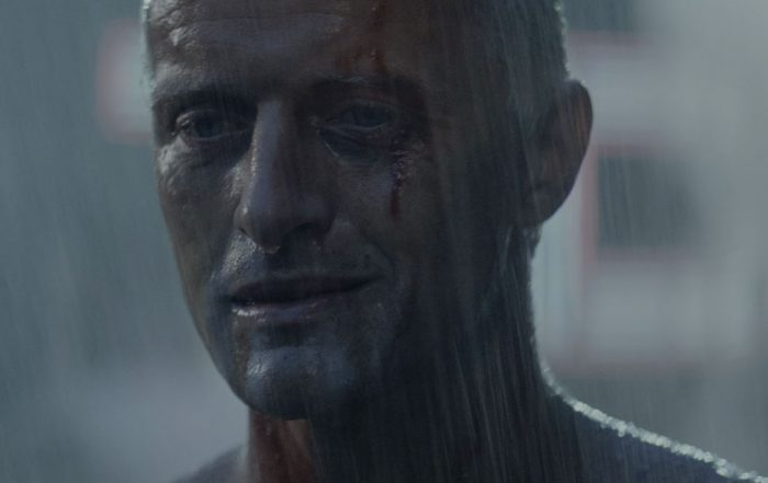 """""""Tears in rain"""" - Roy Batty (portrayed by Rutger Hauer) in the 1982 Ridley Scott film Blade Runner"""