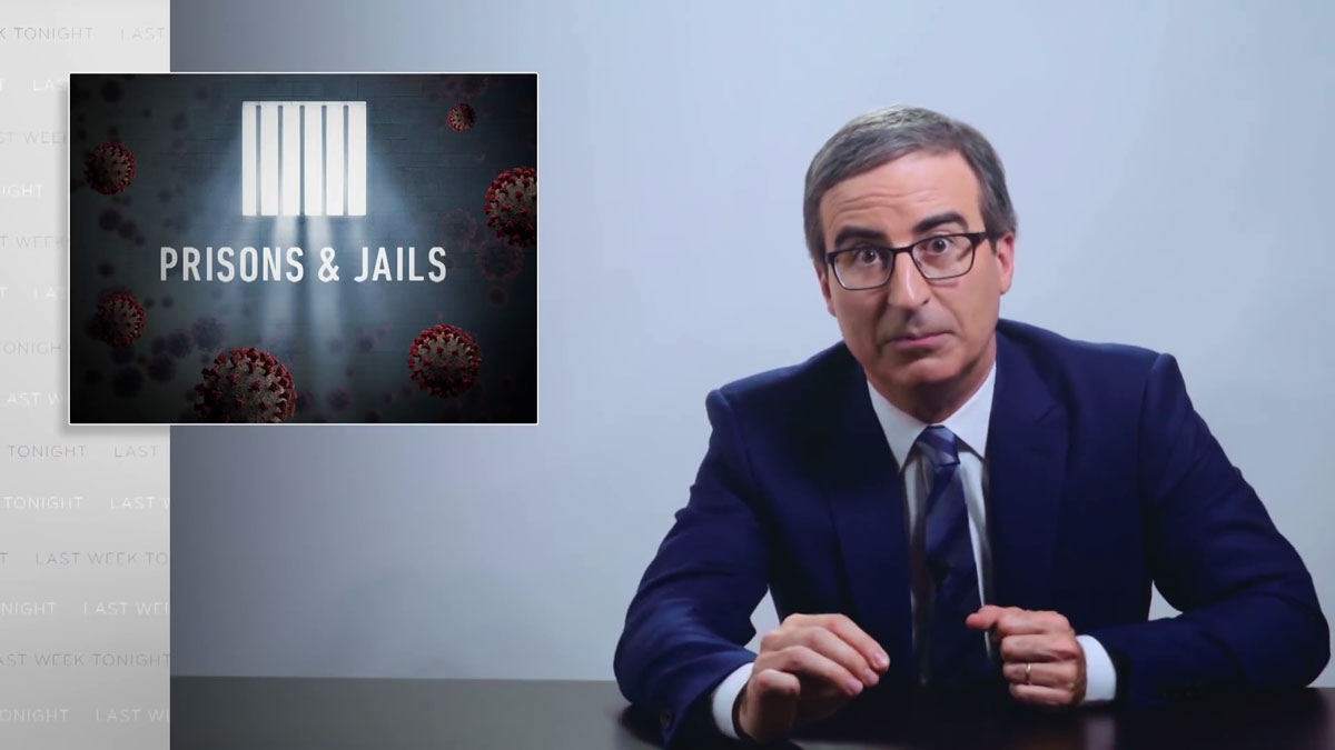 Coronavirus VIII: Prisons & Jails: Last Week Tonight with John Oliver