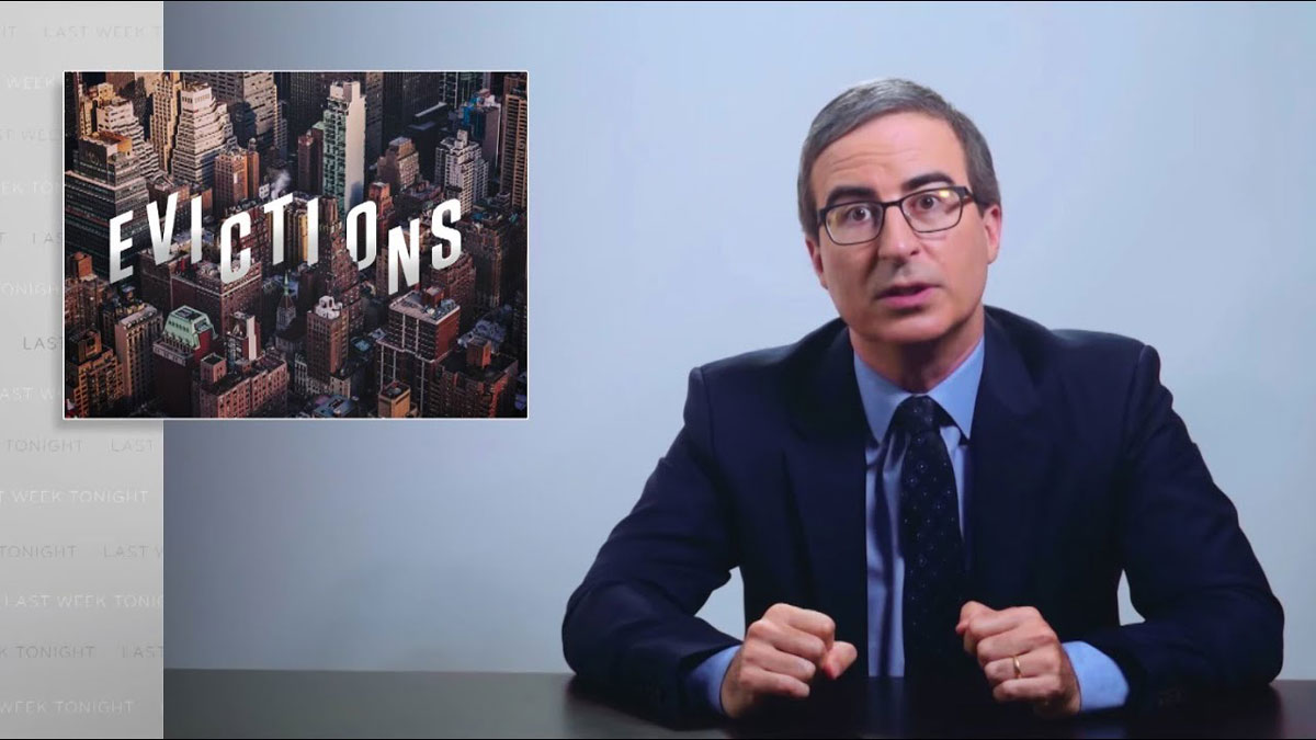 Evictions: Last Week Tonight with John Oliver