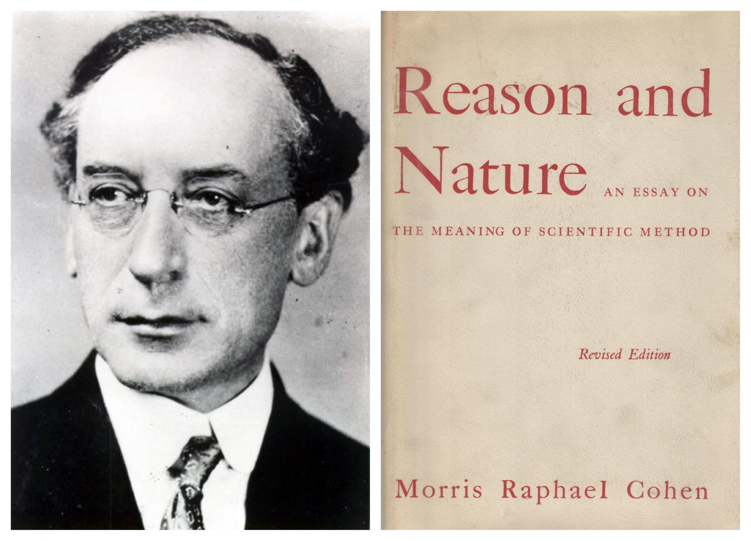 Morris R. Cohen - Reason and Nature