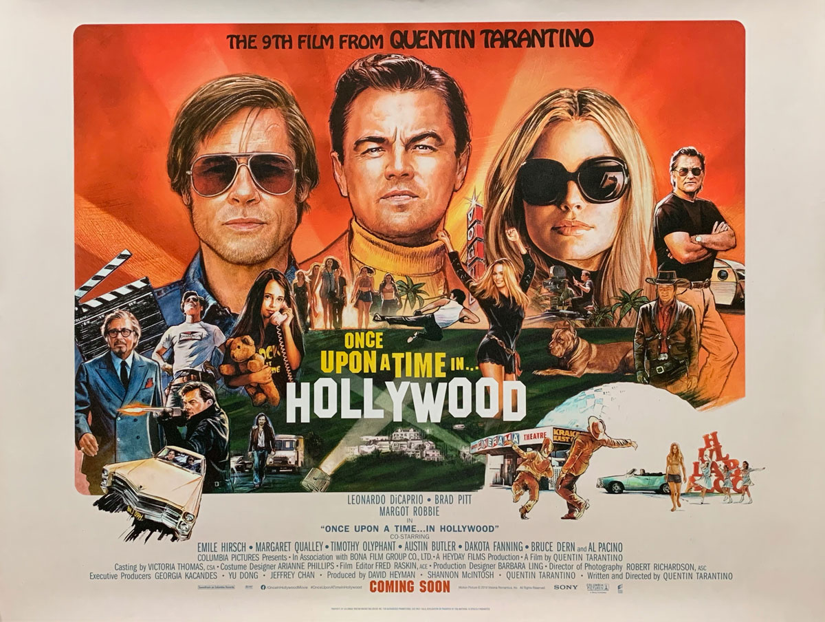 Once Upon A Time In Hollywood 2019 Transcript Scraps From The Loft