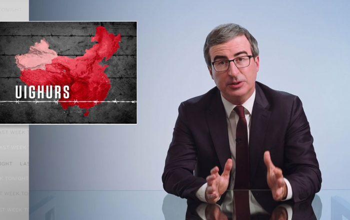 China & Uighurs: Last Week Tonight With John Oliver