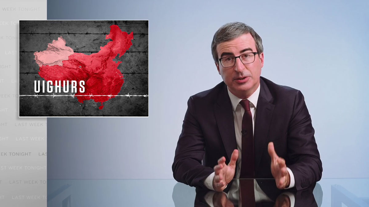 China & Uighurs: Last Week Tonight With John Oliver