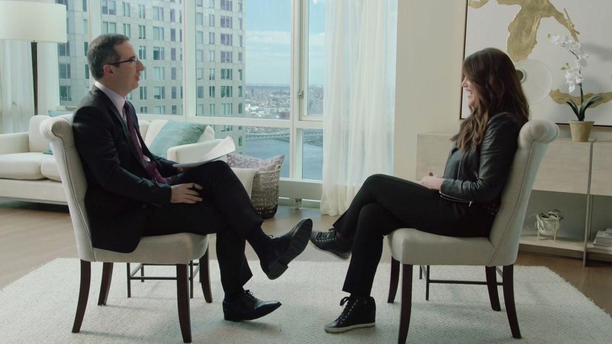 John Oliver interviews Monica Lewinsky