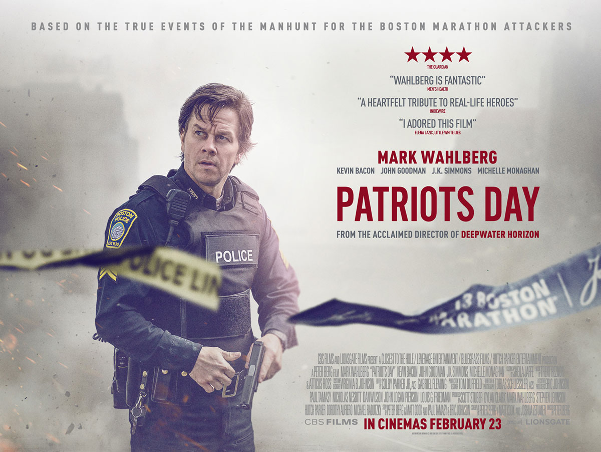 Patriots Day (2016) - Poster