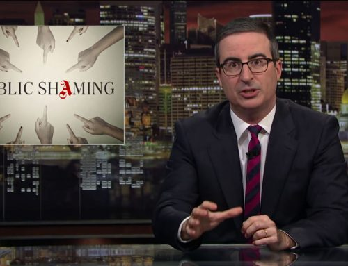 PUBLIC SHAMING: LAST WEEK TONIGHT WITH JOHN OLIVER [FULL TRANSCRIPT]