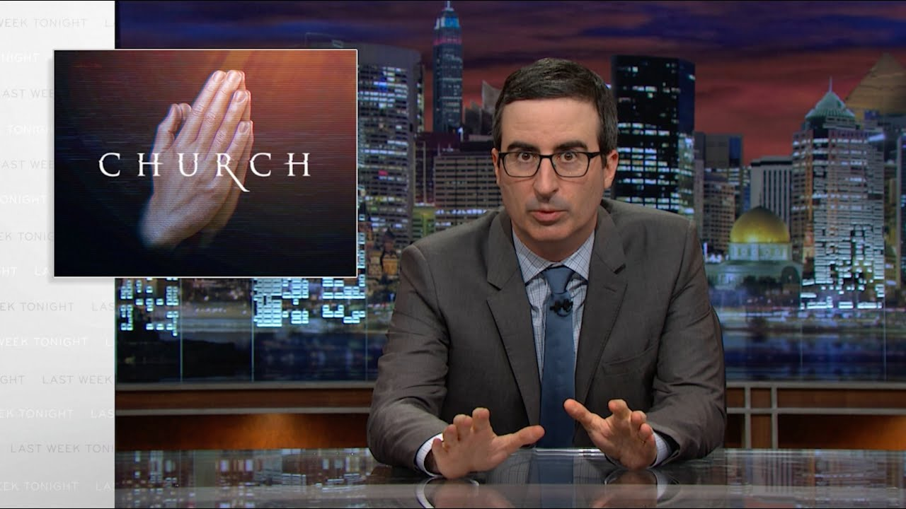 Televangelists: Last Week Tonight with John Oliver