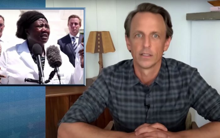 """Trump Praises """"Demon Sperm"""" Doctor Who Pushed Hydroxychloroquine - Late Night with Seth Meyers"""