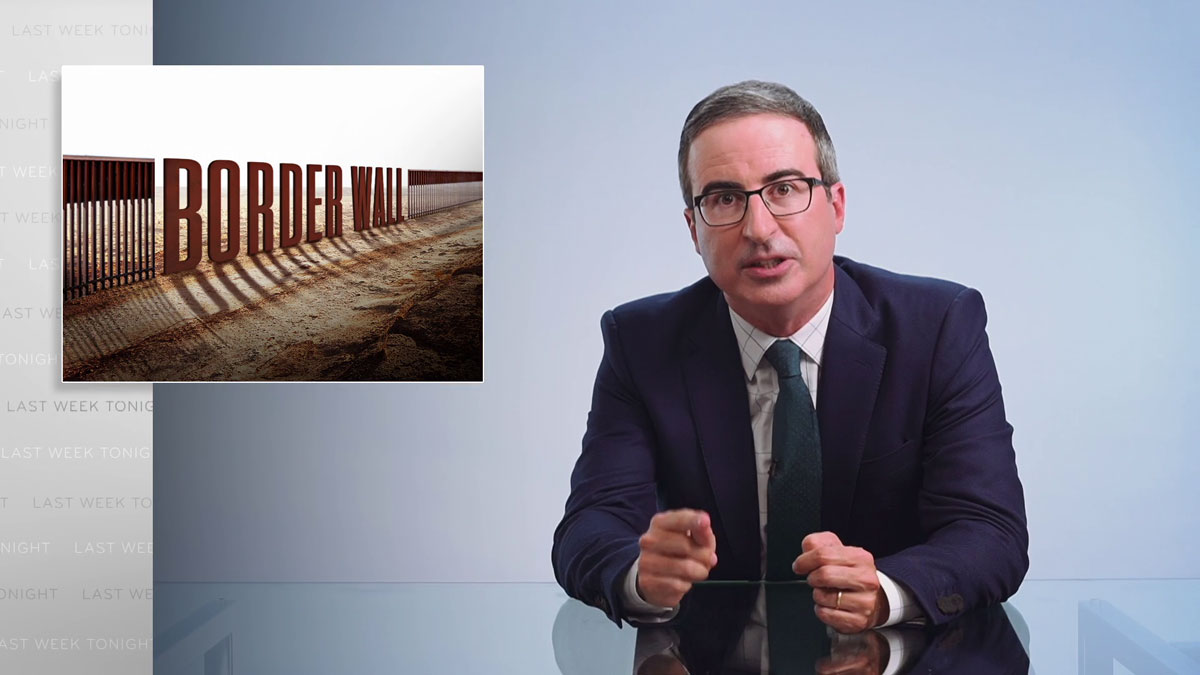 Border Wall II: Last Week Tonight with John Oliver