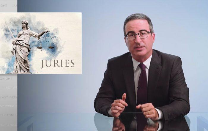 Juries: Last Week Tonight with John Oliver