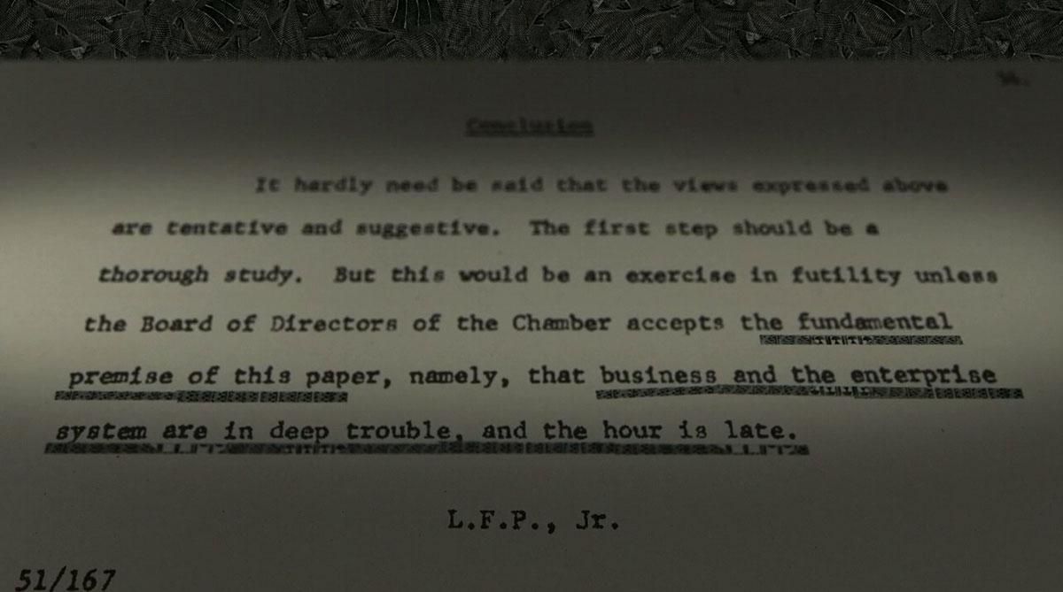 Powell Memorandum