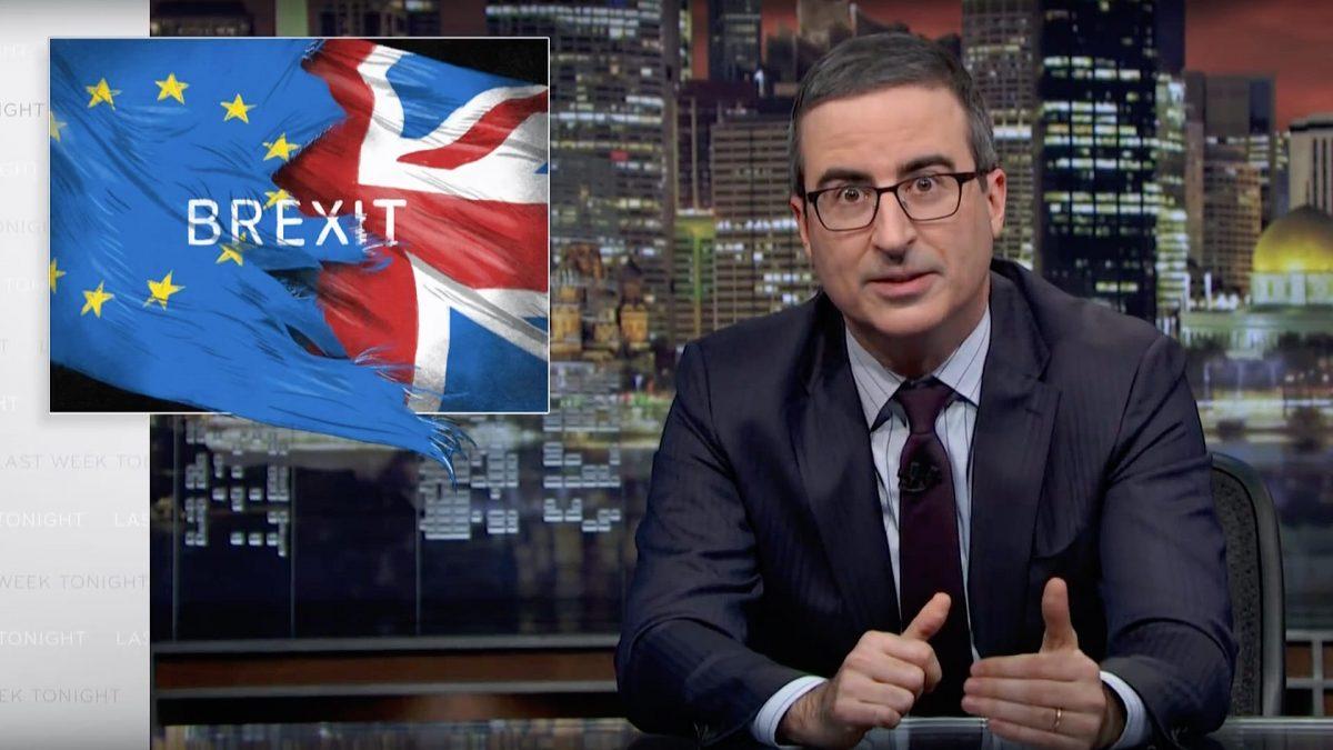 Brexit III: Last Week Tonight With John Oliver