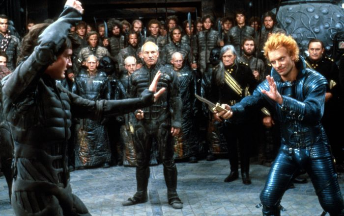Kyle MacLachlan and Sting in Dune