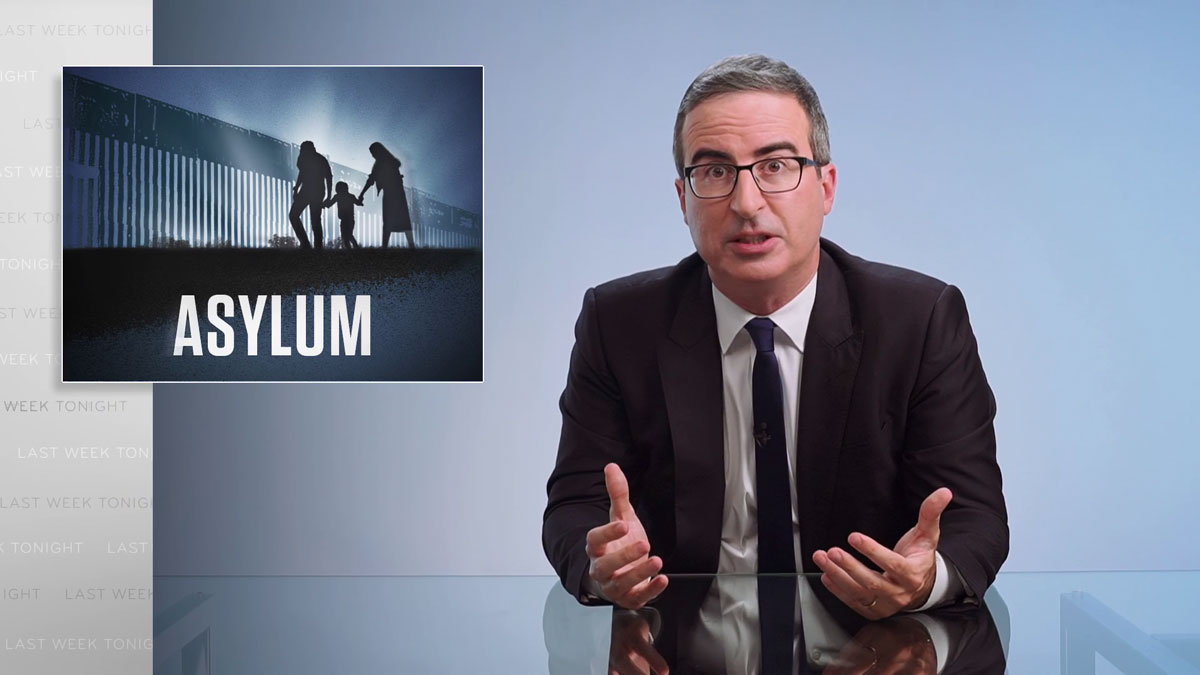 Asylum: Last Week Tonight with John Oliver