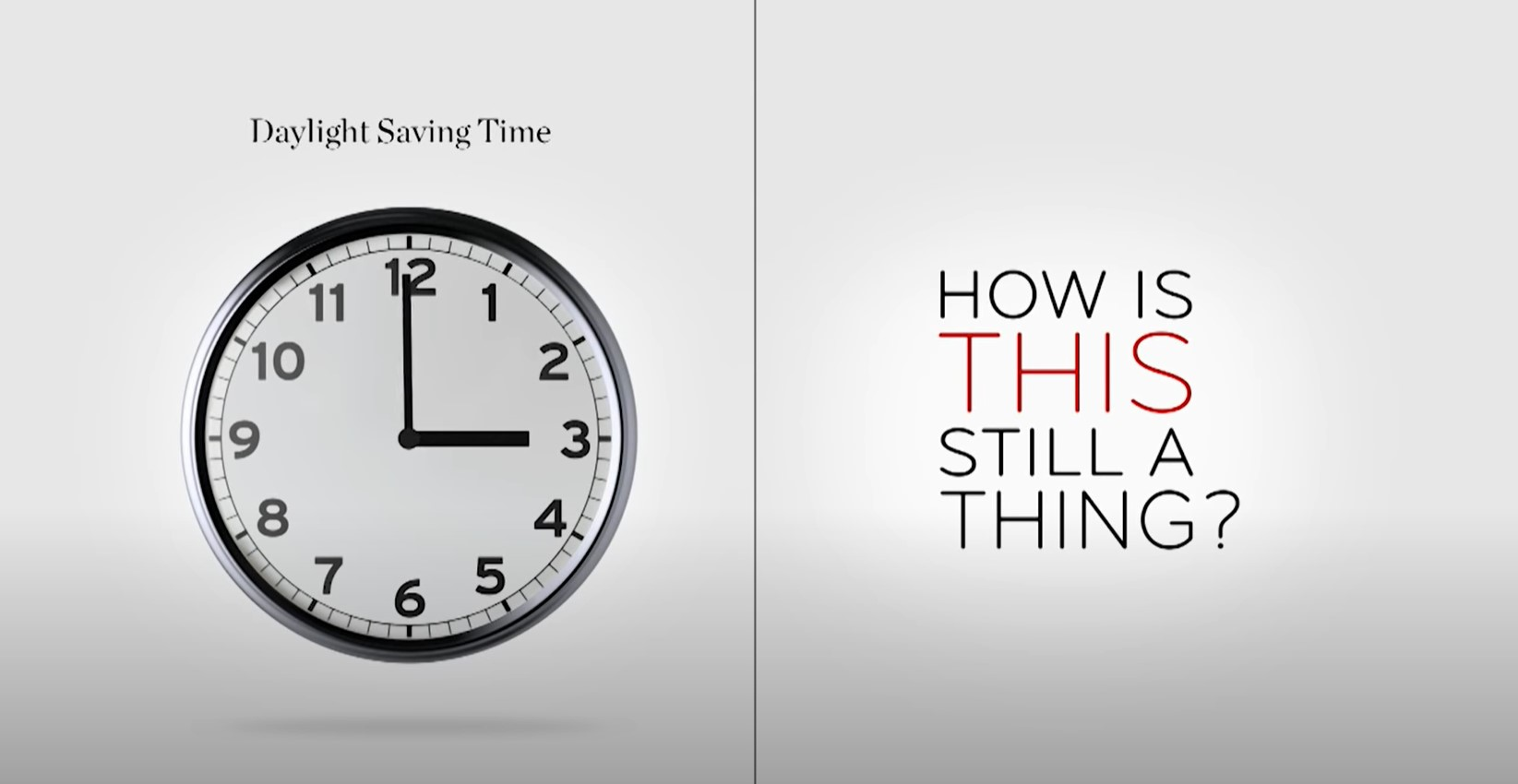 Daylight Saving Time - How Is This Still A Thing?: Last Week Tonight with John Oliver