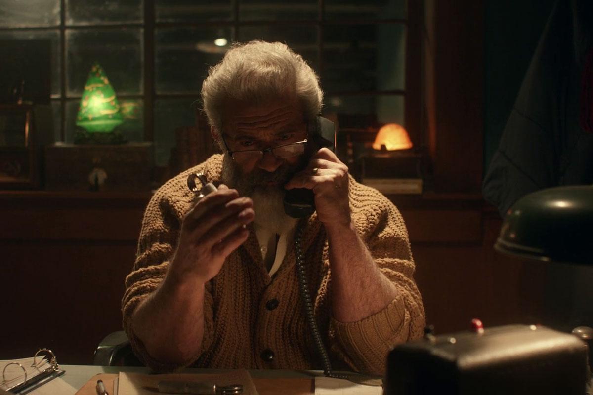 """Mel Gibson in """"Fatman"""" (2020)"""