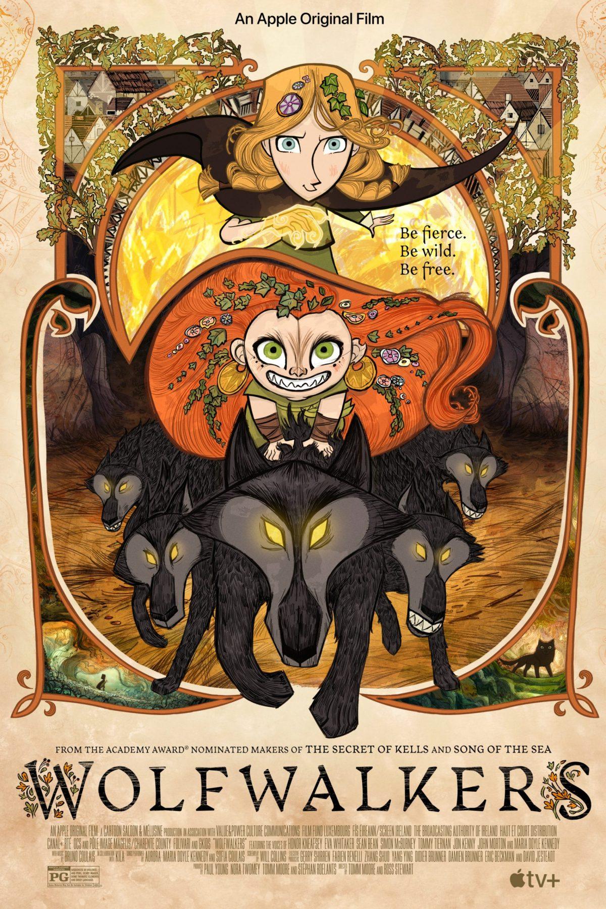 Wolfwalkers (2020) - Poster